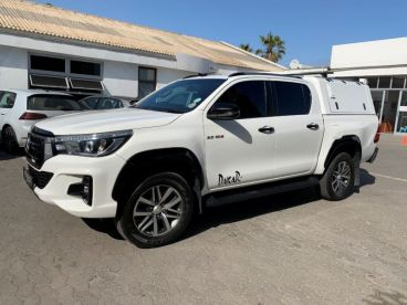 Pre-owned Toyota HILUX DC 2.8GD6 4X4 DKR AT for sale in