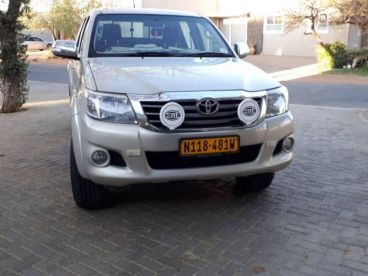 Pre-owned Toyota Hilux 2.7VVTi D/Cab RB for sale in
