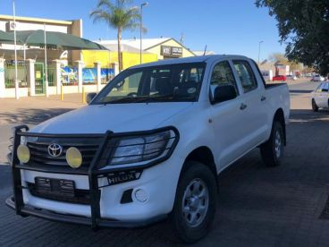 Pre-owned Toyota Hilux 2.5 D4D 4x4 D/C for sale in