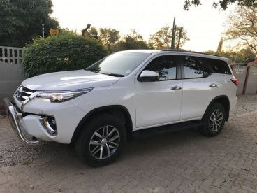 Pre-owned Toyota Fortuner 2.8 GD-6 4x2 R/B 6AT for sale in
