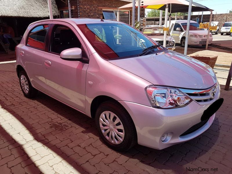 Pre-owned Toyota Etios 1.5 for sale in