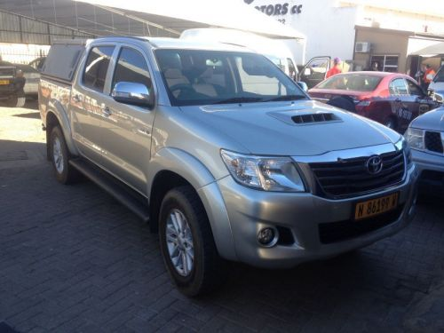 Used Toyota HILUX 3.0D-4D 4X4 for sale in Windhoek