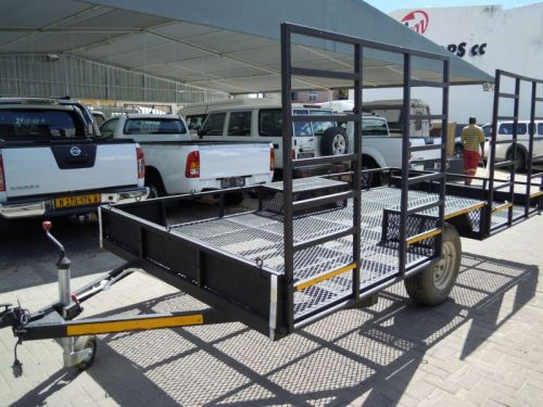 Used STEEL FRAME QUADE TRAILER for sale in Windhoek