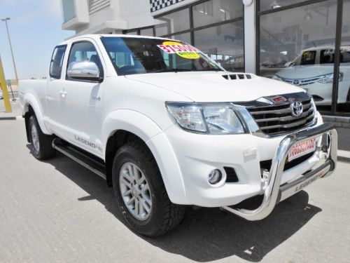 Used Toyota Hilux 3.0 D4D Legend 45 X/Cab 4x4 for sale in Swakopmund