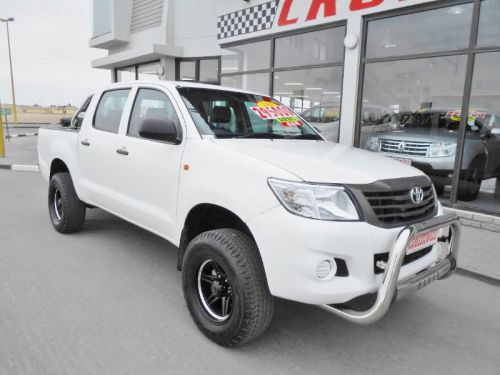 Used Toyota Hilux 2.5 D4D SRX D/C 4X4 for sale in Swakopmund