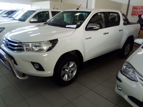 Used Toyota Hilux 2.8 GD-6 D/Cab 4x4 for sale in Swakopmund