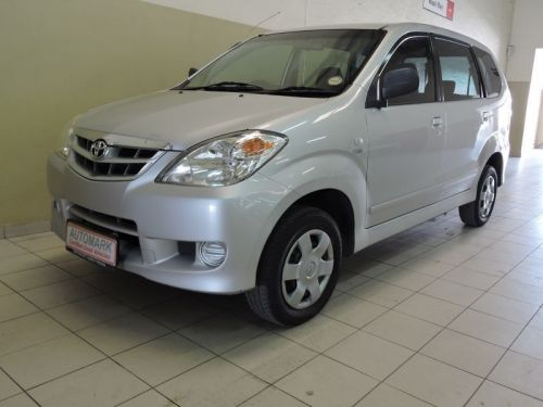 Used Toyota AVANZA 1.3 SX for sale in Walvis Bay