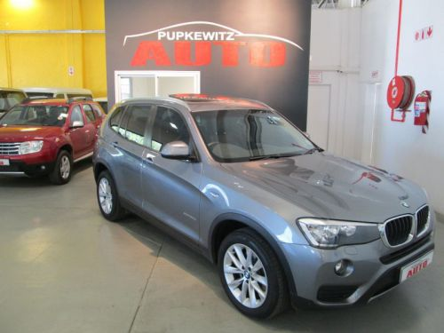 Used BMW X3 20D Xdrive F25 A/T for sale in Windhoek