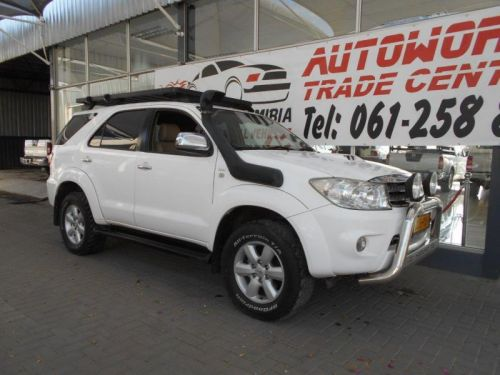 Used Toyota Fortuner 3.0 D-4D 4x4 for sale in Windhoek